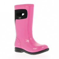 Bogs Kids Tacoma Solid Gummistiefel Winterstiefel hot pink