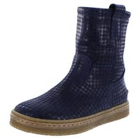 Ocra Winterstiefel Stiefel mix dark blue blau warm...