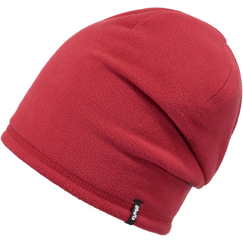 Barts Fleece Beanie Kids Wende-Mütze red rot blau