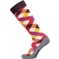 Barts Basic Ski & Boardsock Cross Kids aubergine