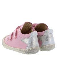 Ocra Stiefel Boot stars nostalgia rosa mit Sternen gefüttert
