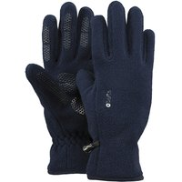 Barts Fleece Gloves Kids Handschuhe blau navy