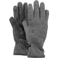 Barts Fleece Gloves Kids Handschuhe grau heather grey