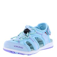 Viking Sandalen Thrill II light blue mint lila