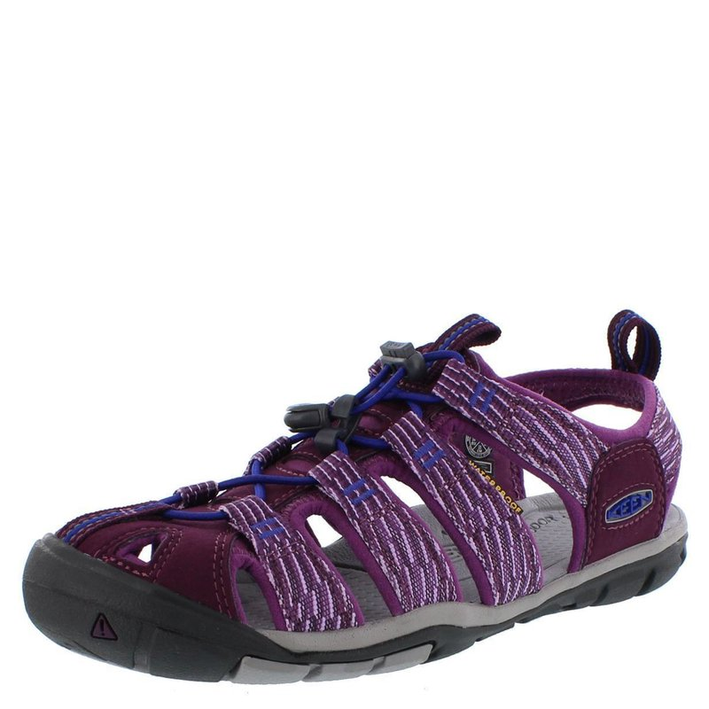 Keen Sandalen Clearwater CNX Women grape wine grape kiss...