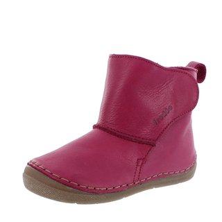 Froddo Winterstiefel Stiefel fuchsia pink mit Klettverschluß