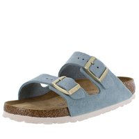 Birkenstock Sandalen Arizona Hausschuhe light blue...