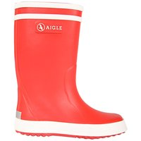 Aigle Gummistiefel Lolly-Pop rot rouge blanc