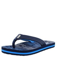 Reef Zehenstegsandale Ahi Kids blue horizon waves