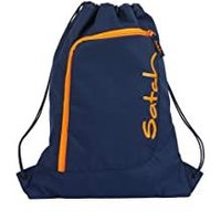 Satch Sportbeutel Toxic Orange blau orange
