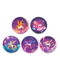 Ergobag Klettie-Set Pegasus matt 5 Kletties
