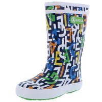 Aigle Gummistiefel Lolly-Pop Theme monogramme bunt