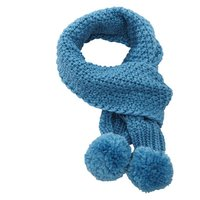 Capo Strickschal Kids  blue lagoon petrol