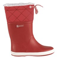 Aigle Gummistiefel Giboulee rot rouge blanc