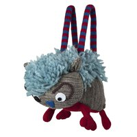 Barts animal bag Tiertasche blau rot grau