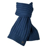 Barts kids Schal Vesper Scarf Strickschal Old Blue blau