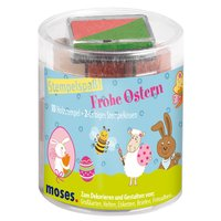 Moses Verlag frohe Ostern Stempel Stempelbox