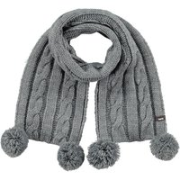 Barts Cable Scarf Schal Kids heather grey grau