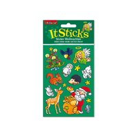 Lutz Mauder It Sticks Sticker Weihnachten I