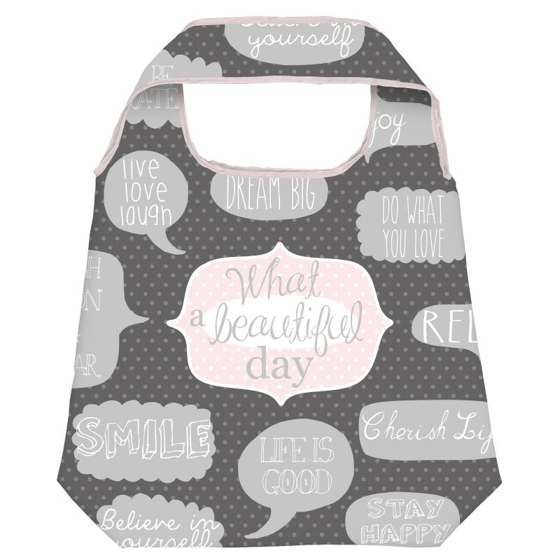 Moses Verlag Shopper What beautiful day lila