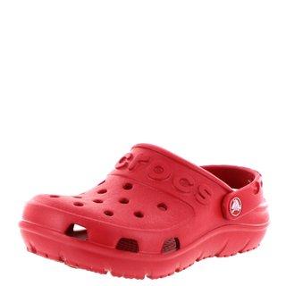 Crocs Rot Sandalen Kids Hilo Pepper OPZukXi