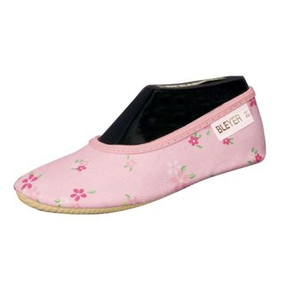 Bleyer Gymnastikschuhe pink Herz Blumen (25) WvHr82dB