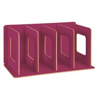 Moses Verlag home office Bücherregal Desk Organiser magenta