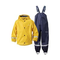 Didriksons Slaskeman Set Regenset yellow navy gelb blau...