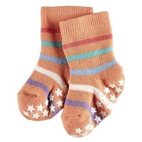 Falke Stoppersocken Catspads orange bunt gestreift