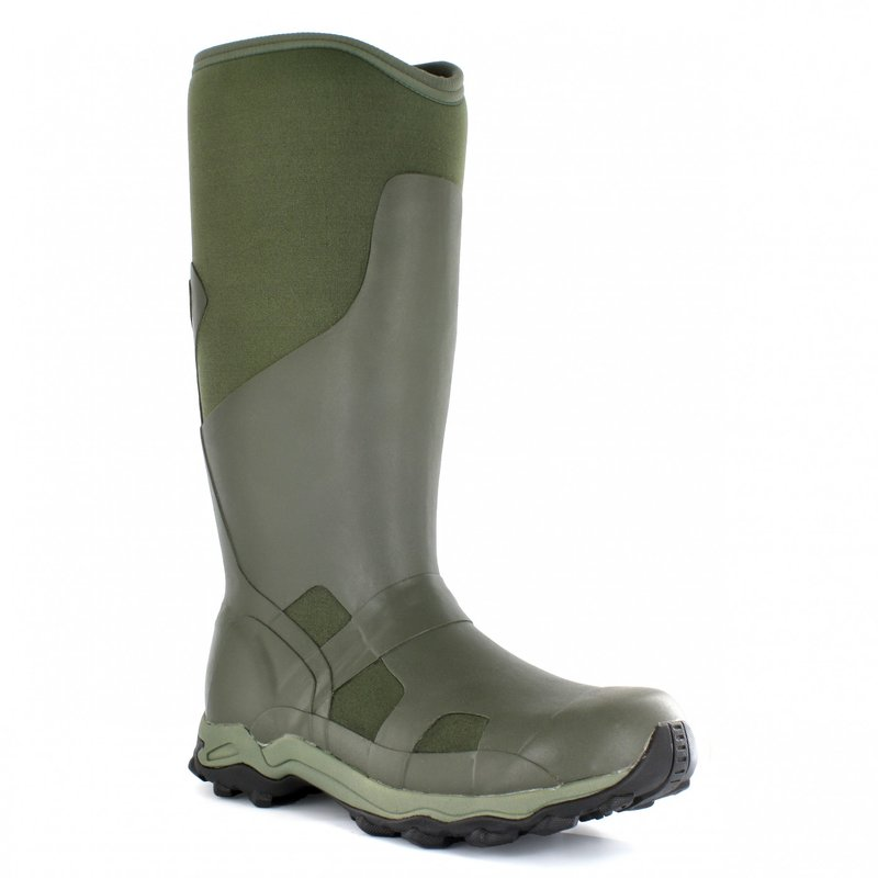 Bogs Men Gummistiefel Winterstiefel World Slam green...