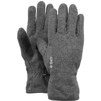 Barts Fleece Gloves Fingerhandschuhe heather grey grau