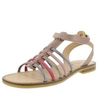 Momino Sandalen space cannella acciaio rose gold
