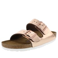 Birkenstock Sandalen Arizona Hausschuhe metallic copper...