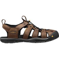 Keen Clearwater CNX Leather Men Sandalen dark earth black...