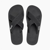 Reef Zehenstegsandalen Men Crossover black schwarz
