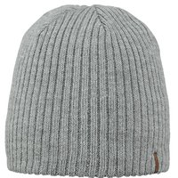 Barts Wilbert Beanie Mütze heather grey grau