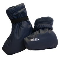 BMS Buddelschuhe SoftSkin Soxx Fleece warm navy blau one...