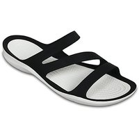 Crocs Sandalen Womens Swiftwater Sandal black white...