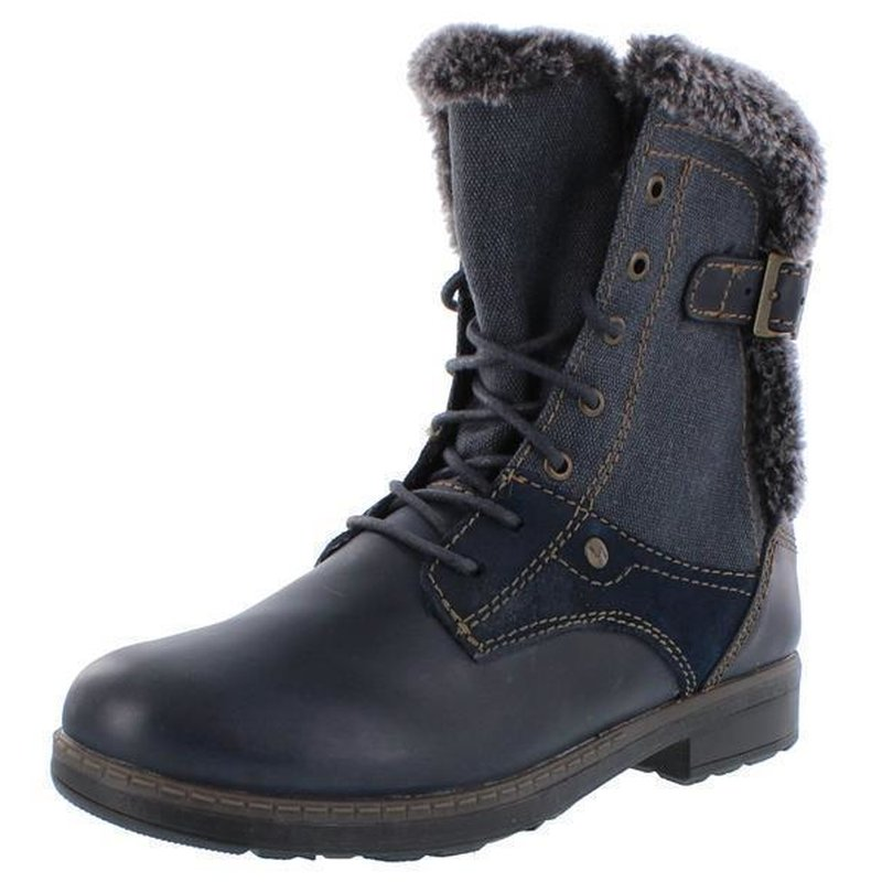 Vado Winterstiefel Boot Dolores navy blau Weite medium weit