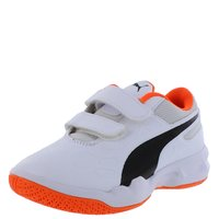 Puma Turnschuhe Tenaz V Jr. black white schwarz orange